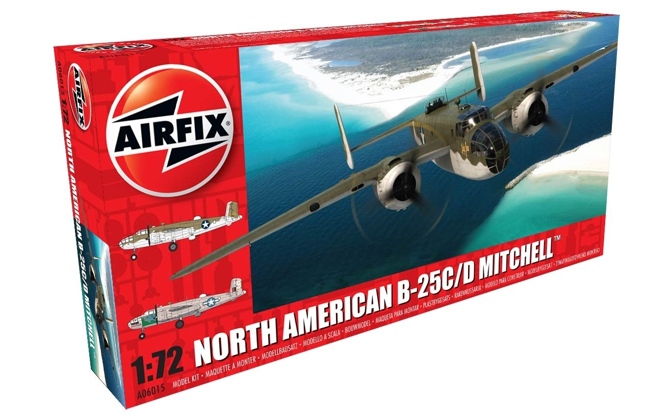 AIRFIX 06015 North American B-25C/D Mitchell 1/72